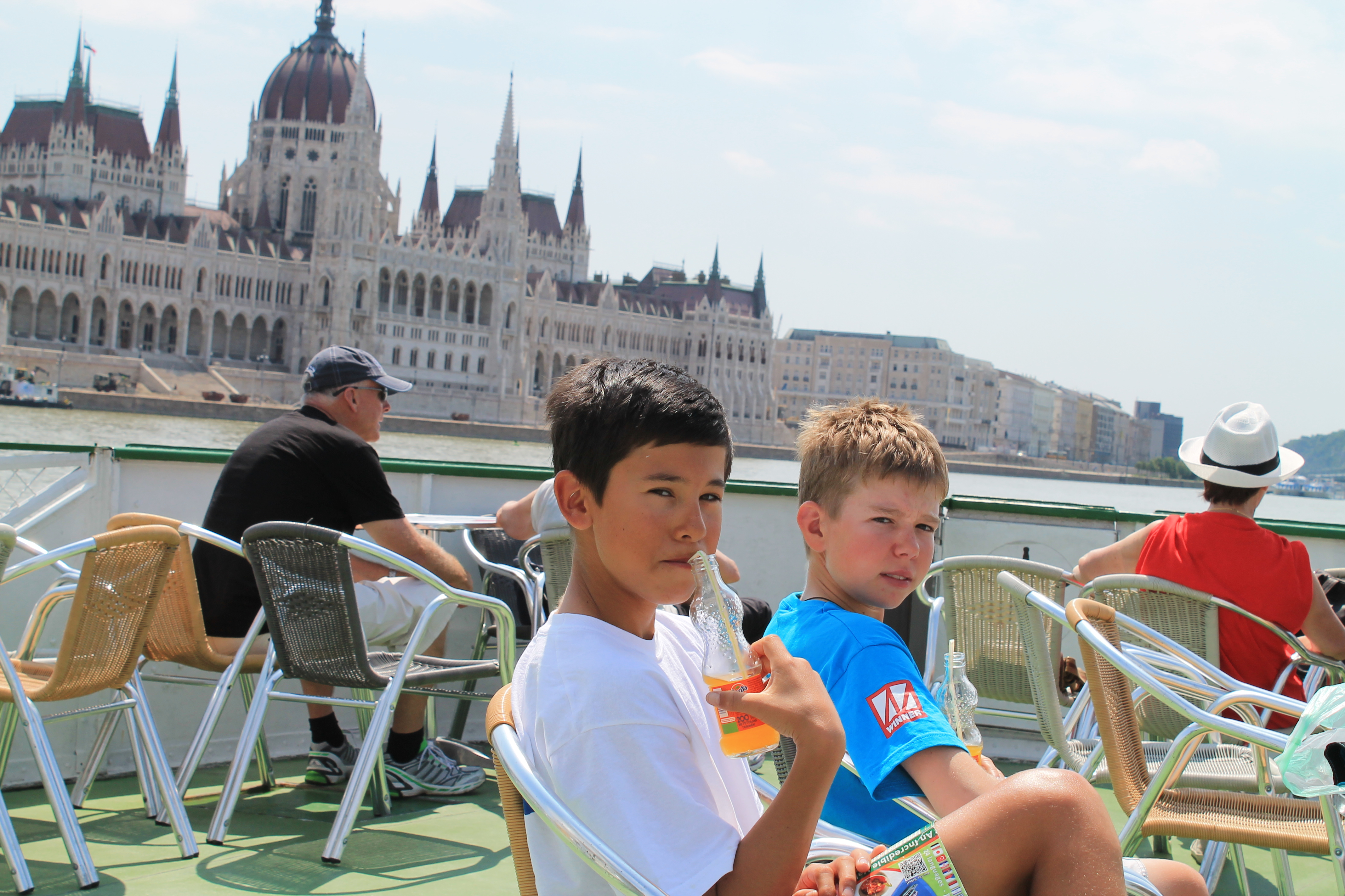 Scott and Craig on the Danube River