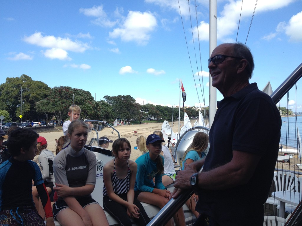 Tom, sailors and 'Kohi 1'